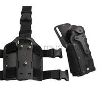 Outdoor Hunting Gun Holster Airsoft R&L Universal Drop Leg Holster Platform for M9/GL 17/P220/P226