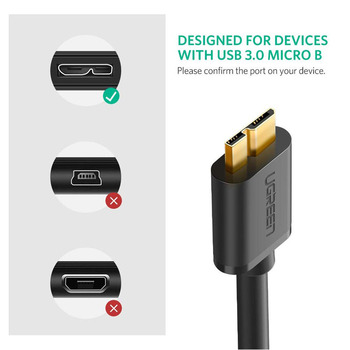 USB 3.0 A Male to Micro B Cable 1