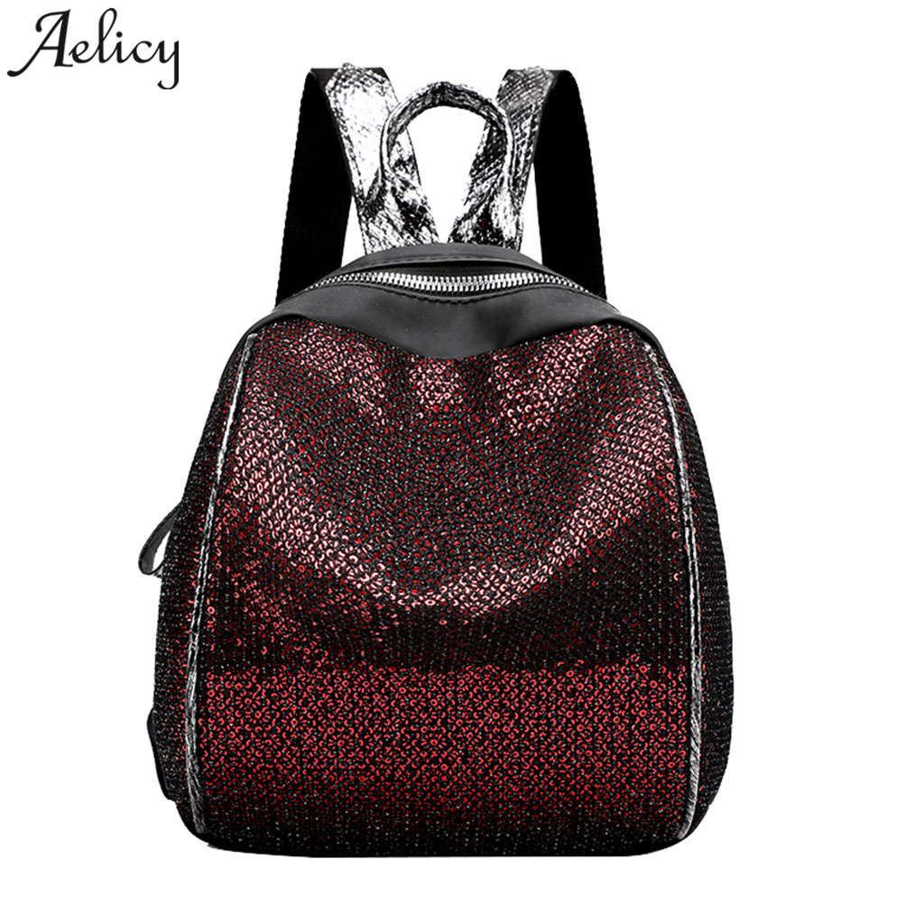 Aelicy women Backpack Sequins Ladies backpacks Multifunction Travel girls School Bags high Quality mochilas mujer 2019 drop shipAelicy women Backpack Sequins Ladies backpacks Multifunction Travel girls School Bags high Quality mochilas mujer 2019 drop ship