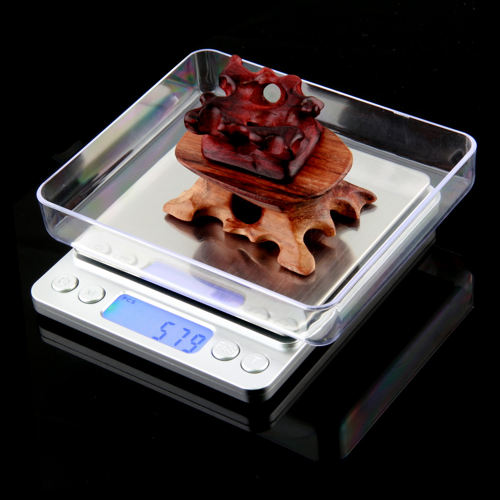 ФОТО 2pcs New 2000g x 0.1g Digital Pocket Scale Jewelry Weight Electronic Balance Scale g/ oz/ ct/ gn Precision