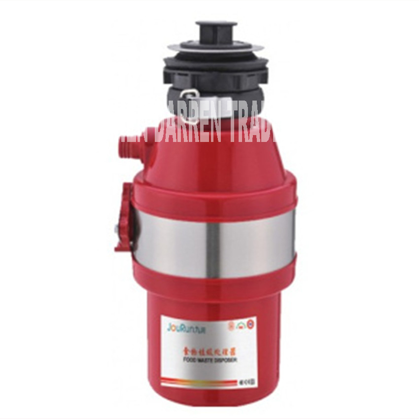 ФОТО NEW kitchen food waste processor food waste disposal crusher Stainless steel material grinder kitchen appliances  1400ML