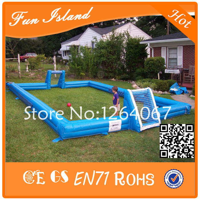Free Shipping Outdoor Inflatable Soccer Field, Inflatable Football Pitch, Inflatable Football Arena / Court For Sale free shipping ce certificated inflatable football pitch inflatable soccer court soapy stadium for sale