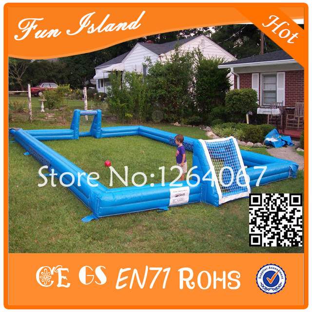 Free Shipping Outdoor Inflatable Soccer Field, Inflatable Football Pitch, Inflatable Football Arena / Court For Sale
