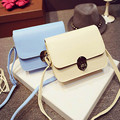 Ulrica New Lovely Girl Candy Color PU Leather Mini Small Adjustable strap Shoulder Bag Casual Handbag Messenger Crossbody Bags