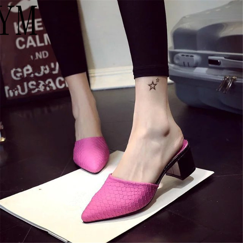 Women Pumps Sexy Classic Snakeskin Patent Leather High Heels Shoes Chunky Sharp Head Paltform Wedding Women Dress Shoes Plus 40Women Pumps Sexy Classic Snakeskin Patent Leather High Heels Shoes Chunky Sharp Head Paltform Wedding Women Dress Shoes Plus 40