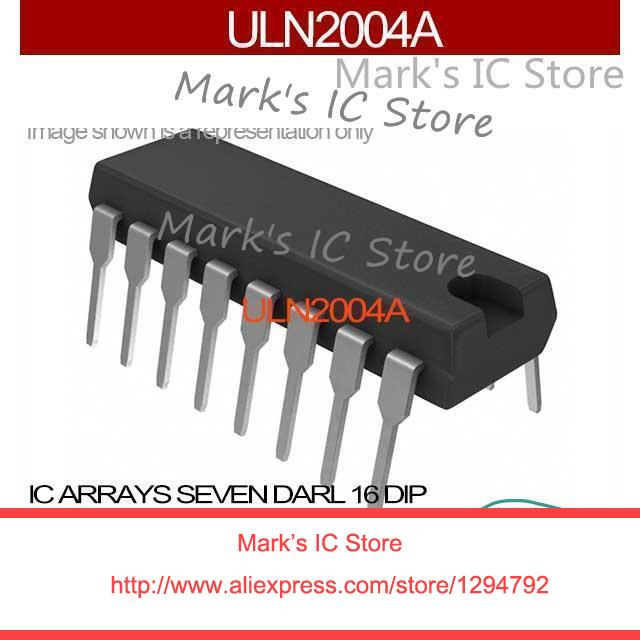 ULN2004A IC ARRAYS SEVEN DARL 16 DIP 2004 ULN2004 10PCS