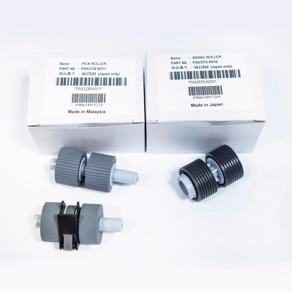 Orignial PA03338-K011 PA03576-K010 for Fujitsu Fi-5750C Fi-5650C Fi-6670 Fi-6670A Fi-6770 Fi-6770A Fi6750S Scanner PickUp Roller