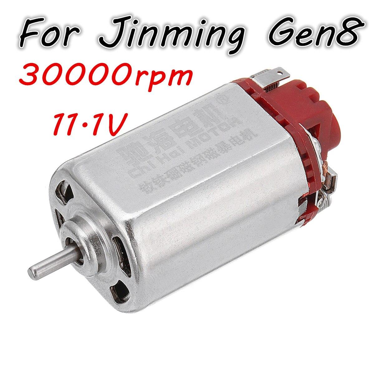 11.1V 31000rpm Gear Motor Nd Fe B Motor Gel Ball Blasters Guns Toy 460 Upgrade Motor for Jinming 8th Gen M4A1