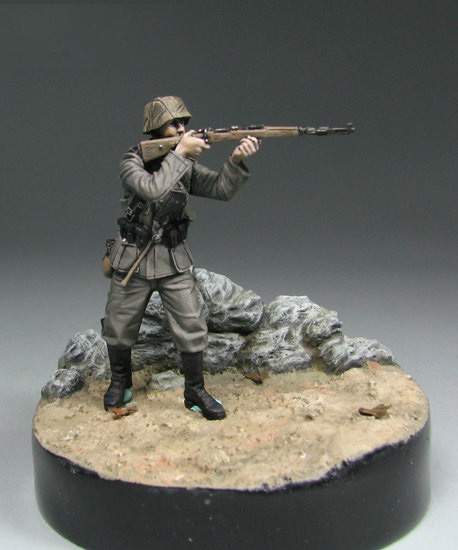 Resin Kits 1/ 35  Ancient Scouts   Shooting (without Base )  Resin Not Color Model Figure DIY TOYS New