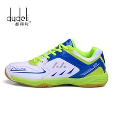 Badminton-Shoes DUDELI Sport Indoor Men Professional for Women Lefusi Couples
