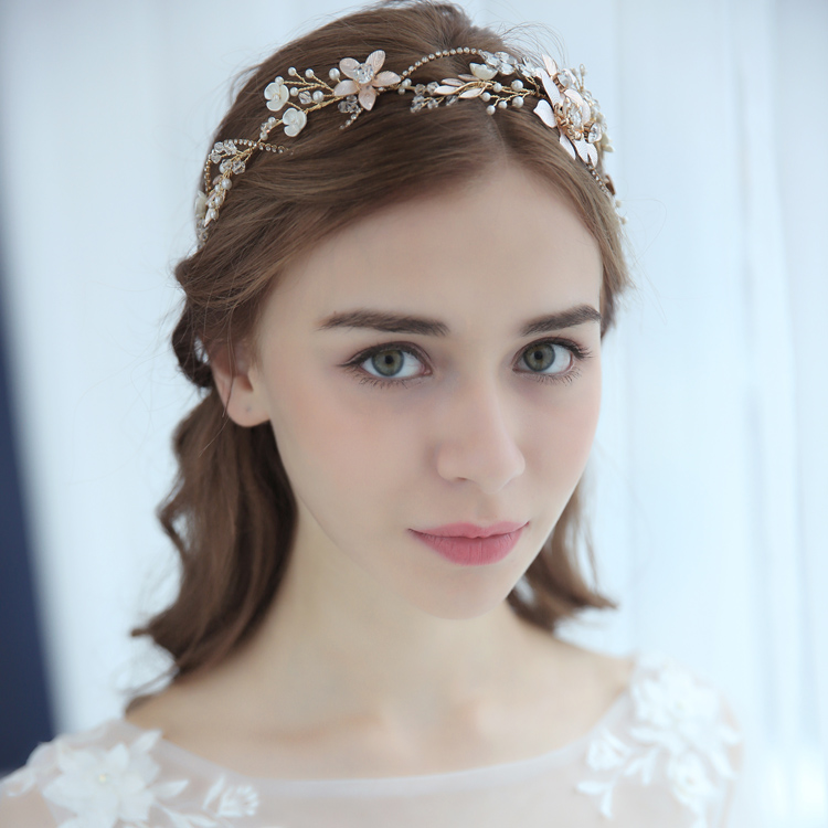 Vogue Bridal Hair Accessories Headpiece Enchanted Floral Rhinestone
