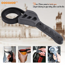 Cocosoly 500mm Rubber Strap Wrench Adjustable Spanner For Opener Tool Oil Filter Car Repair Tools Torque Wrench mxita adjustable torque wrench hand spanner wrench tool car bicycle repair tools