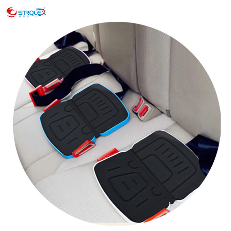 Mifold Portable Baby Car Seat Safety Cushion Travel Pocket Foldable Child Car Seats Kids Car Seat Liner Safety Harness for 3~12Y high quality baby car seat thicken cushion wrap types soft baby safety seat shockproof child kids auto seat easy install c01
