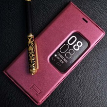 KOBEE Original For Huawei P8 Flip Leather Mobile Phone Bag Case Accessorie For huawei ascend P8 For Huawei P9 Cover Luxury Brand