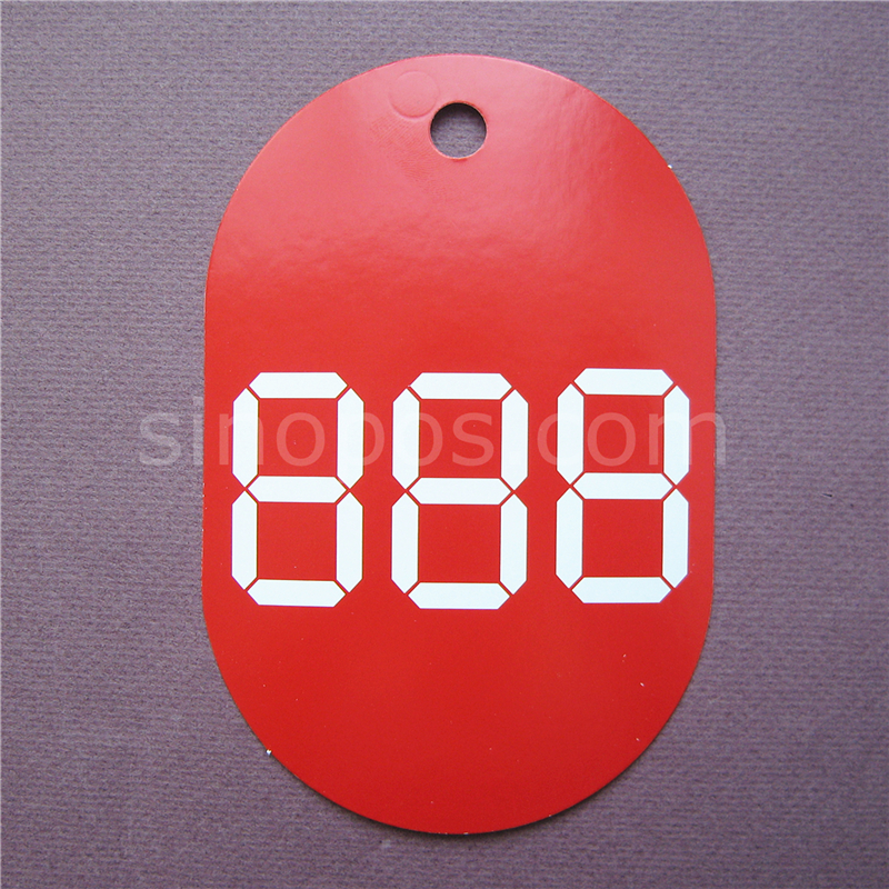 9x14cm Writing Price Card, Cardboard Paper Pricecard Hang