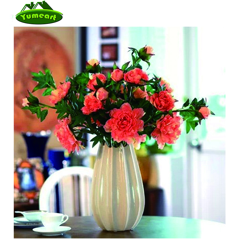Beauty Life Full Drill Diamond Embroidery Flowers In A Vase