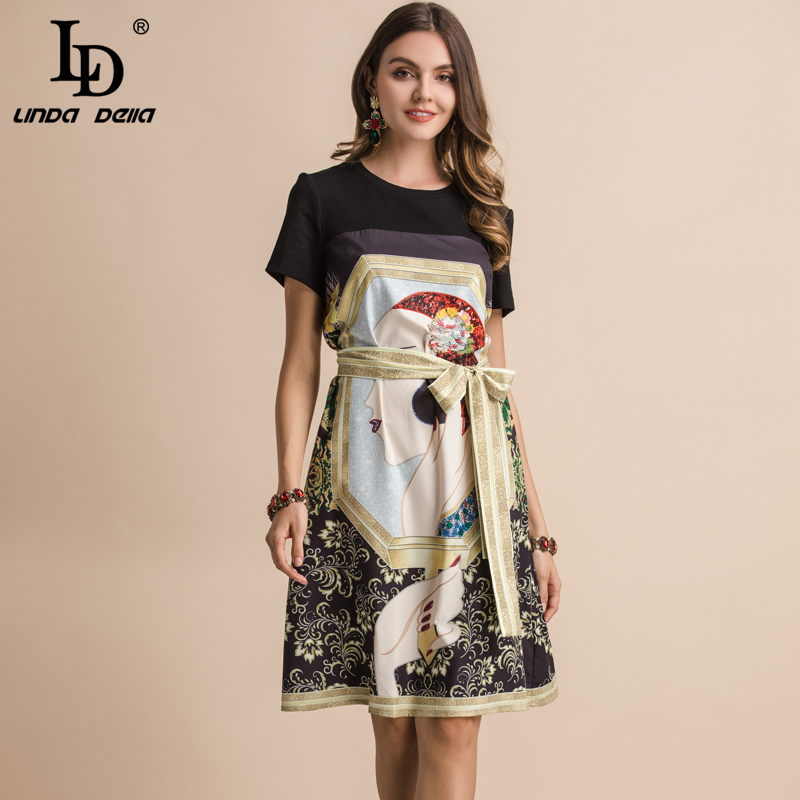 LD LINDA DELLA Vintage Loose Dress 2019415