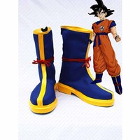 New Anime Dragon Ball Z Son Goku cosplay shoes cos party boots