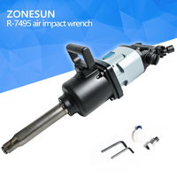 ZONESUN 90 Blade Industrial Pneumatic Wrench Pinless Hammer Structure 3500N M Heavy Duty 1 Pneumatic Wrench