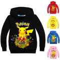 Pokemon Hoodie Sweatshirt Long Sleeve T-shirt For Kids Boys Autumn Girl Tees P1036