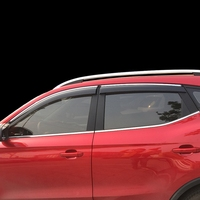 4pcs/lot Car Styling Visors Sun Rain Shield window trim Stickers Awnings Shelters Window Covers For MG ZS 2018