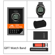 Smartwatch Makibes G02 GPS Smart Watch Dynamic Heart Rate Monitor Bluetooth 4.0 Call Message Alert GPS tracker for Android ios