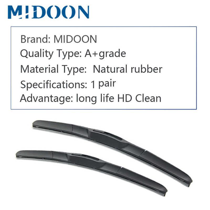 MIDOON Щетка стеклоочистителя гибридная для Toyota Auris Европа модель Fit крюк руки Модель Год от 2007 до 2018
