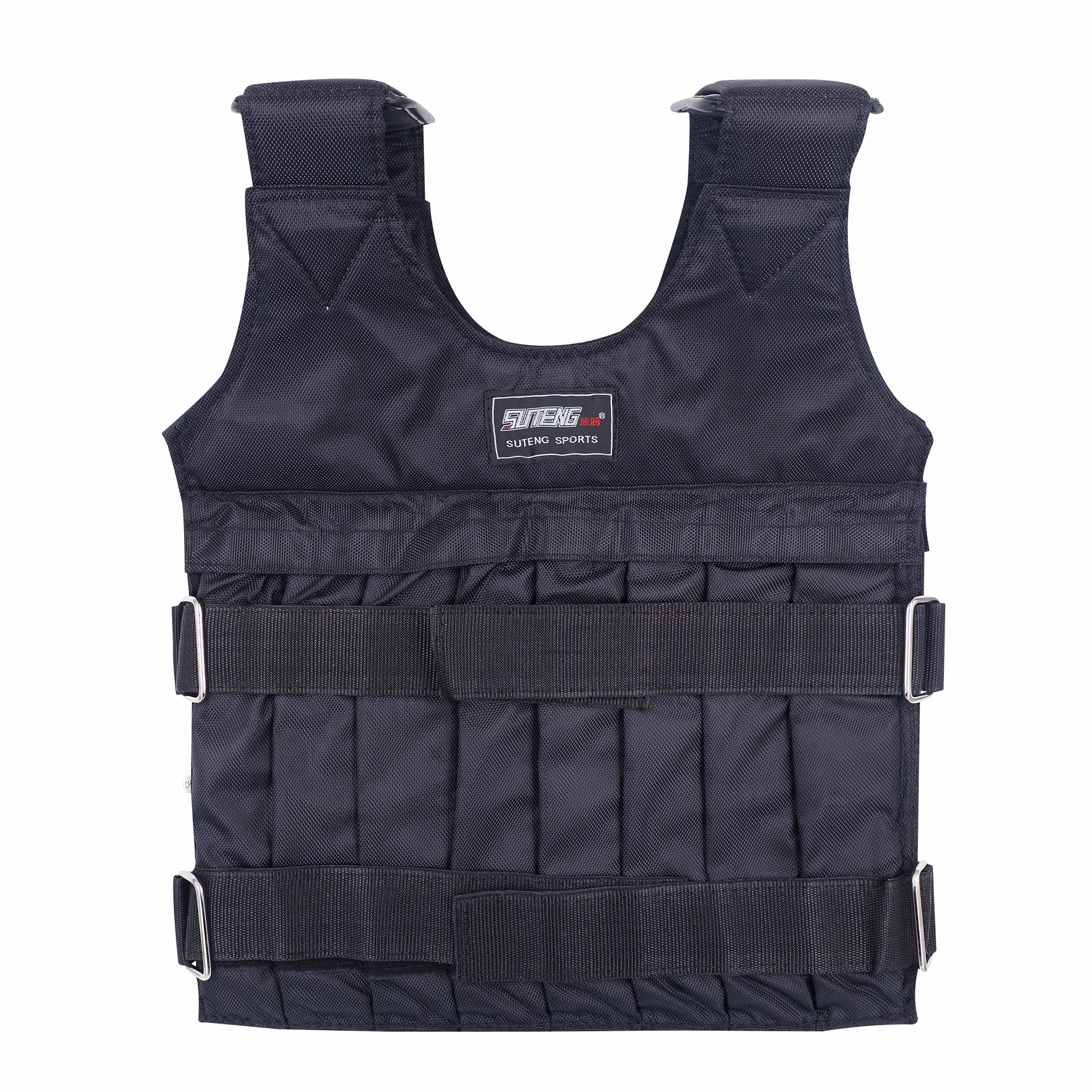 Yinguo Weighted Vest Xmas Sale Weighted Jacket Adjustable Weight Max Load 50kg//110lbs with 12 bags for Men Women Kid Home Gym Fitness Losing Weight Lifting Strength Training Boxing Exercise Workout