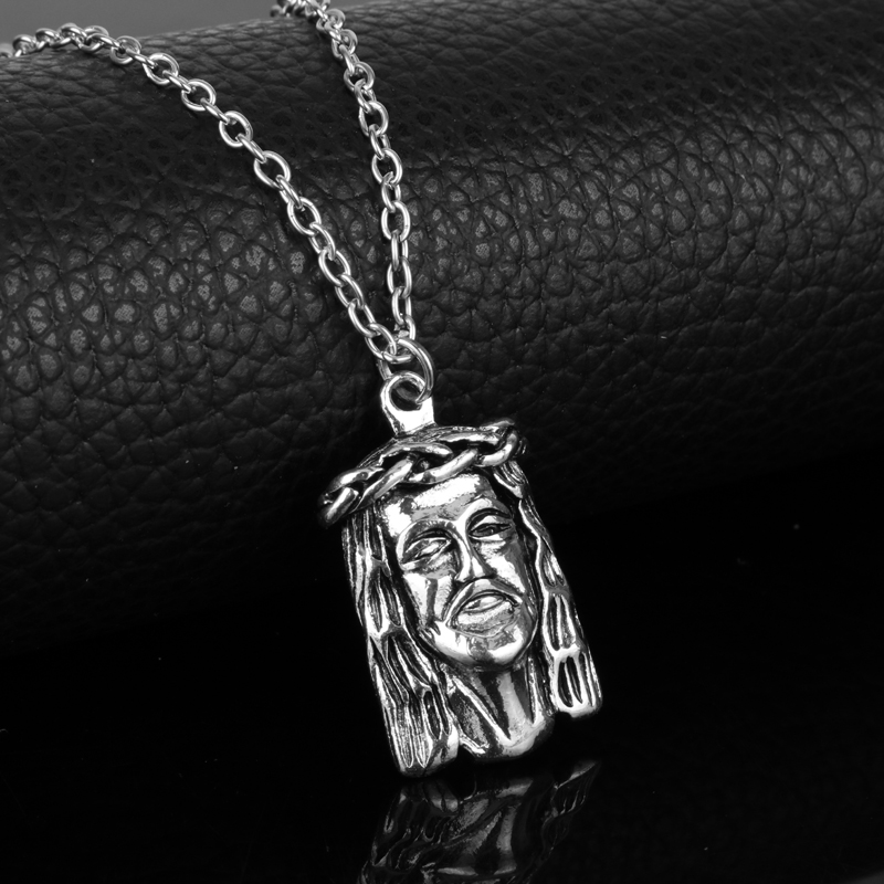 Dongsheng mens golden iced out jesus piece necklaces charm bling dongsheng mens golden iced out jesus piece necklaces charm bling pendants jewelry rappers collier big jesus choker necklace gift in pendant necklaces from aloadofball Choice Image