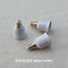 1 X E14 To E27 Lamp Holder Converters Fireproof Outside To Inside Outer Small Screw To The Inner Screw Conversion Adapter Socket(China)
