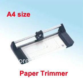 Fast Free shipping New Hot CHEAP Portable A4 Manual Rotary Professional Paper PVC Cutter Trimmer 2017 new manual rotary paper cutter trimmer 310mm 20sheets paper cutting and perforating double function new design
