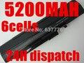 Negro 5200 mah batería para acer aspire one a110 a150 d210 d150 d250 zg5 um08a31 um08a32 um08a51 um08a52 um08a71 um08a72 um08a73