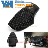 For Harley Sportster XL883 XL1200 Iron 48 72 , Custom 2010 2016 Motorcycle Driver Front Rear Passenger Seat Two Up Black