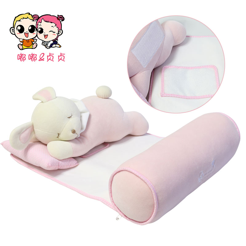 Bongdoli Bongsuni Newborn Infant Pillow Multifunctional Neck Protection Baby Bedding Set Sleeping Shaping Pillow Cartoon