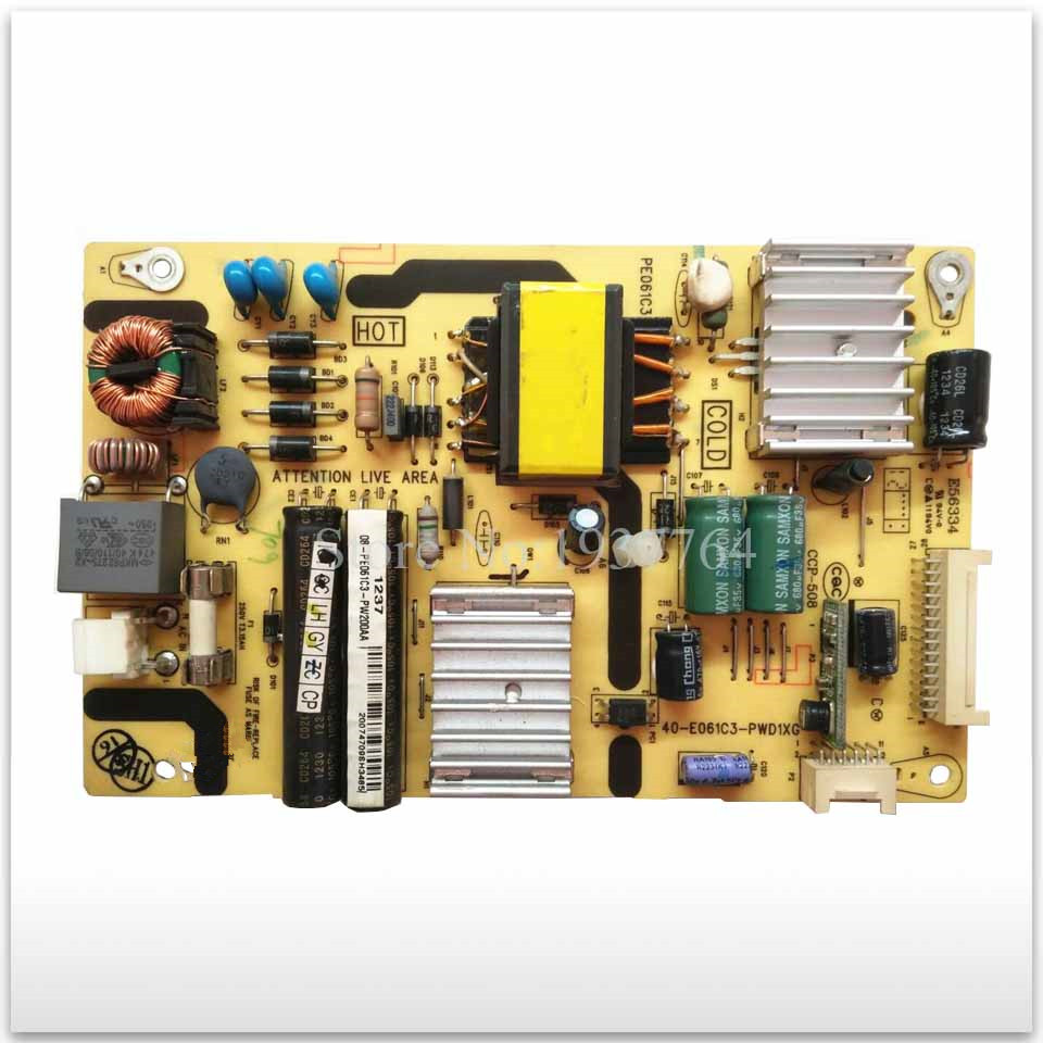 95% new original power supply board 40-E061C3-PWD1XG PWH1XG PWK1XG L32F3320B Board good working 95% new original power supply board lcd32lx170a runtkb002wjqz jsl1049 003