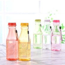 550ML Leak-Proof Sports Water Bottle Large Capacity Plastic Bottle Bicycle Camping Sports Bottle Drinkware + Cover Lip BPA free