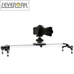 Sevenoak SK-HD120 47 Aluminum Camera Slider for Canon 5D Mark2 7D 60D 500D-550D Nikon D3100 D7000 Sony A55