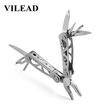 VILEAD 9 in 1 Multi tools Outdoor Camping Survival Stainless Steel Travel Folding Durable Portable Compact Knives Bushcraft Edc стоимость