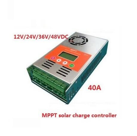 High Efficiency MPPT LCD Display 30A 40A 50A 60A Solar Charge Controller 12V 24V 36V 48V Solar Charge Controller