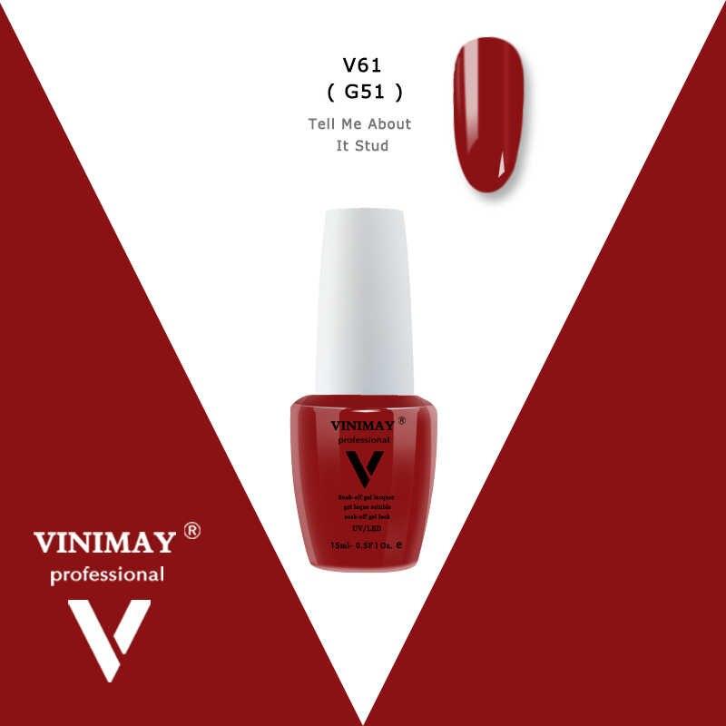 VINIMAY New Arrival żel Lak żel UV do paznokci paznokci polski Gelpolish Vernis żel Nagellak Gellak lakier żelowy typu soak off primer do paznokci 15 ml