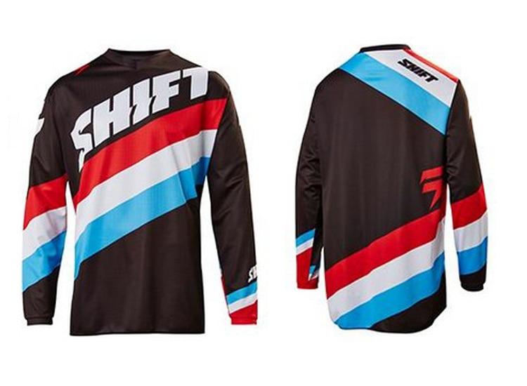 New Downhill Mountain Bike Riding Racing Cross-country T-shirt Quick-drying MTB DH Mountain Bike Jersey 4