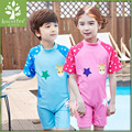 Cute Kids Cartoon One piece Swimwear Boy Girl Swimsuit Children Bathing Set Kid Swimming Suit for 3-11 Years Old Bikini infant