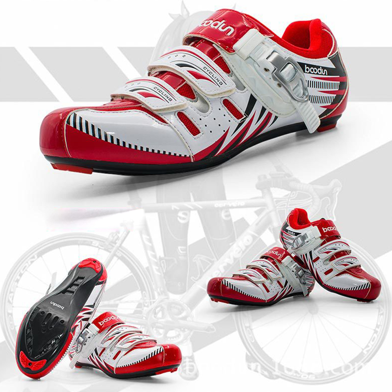 2018 New Men Athletic Cycling Bike Shoes Road Bicycle  MTB Riding Sport self-locking Shoes Sneakers Autolock  EUR Size 39-46 2017brand sport mesh men running shoes athletic sneakers air breath increased within zapatillas deportivas trainers couple shoes