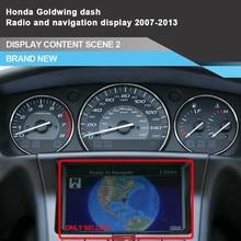 Мотоцикл приборная панель gps радио ЖК-дисплей для Honda Gold wing GL1800 2007~ 2013 датчик кластера навигационный экран
