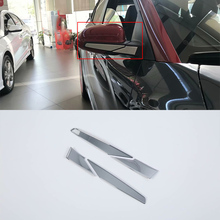 ABS Plastic Car Rearview Mirrors Cover Decoration Trim 4pcs For HYUNDAI ENCINO car accessories