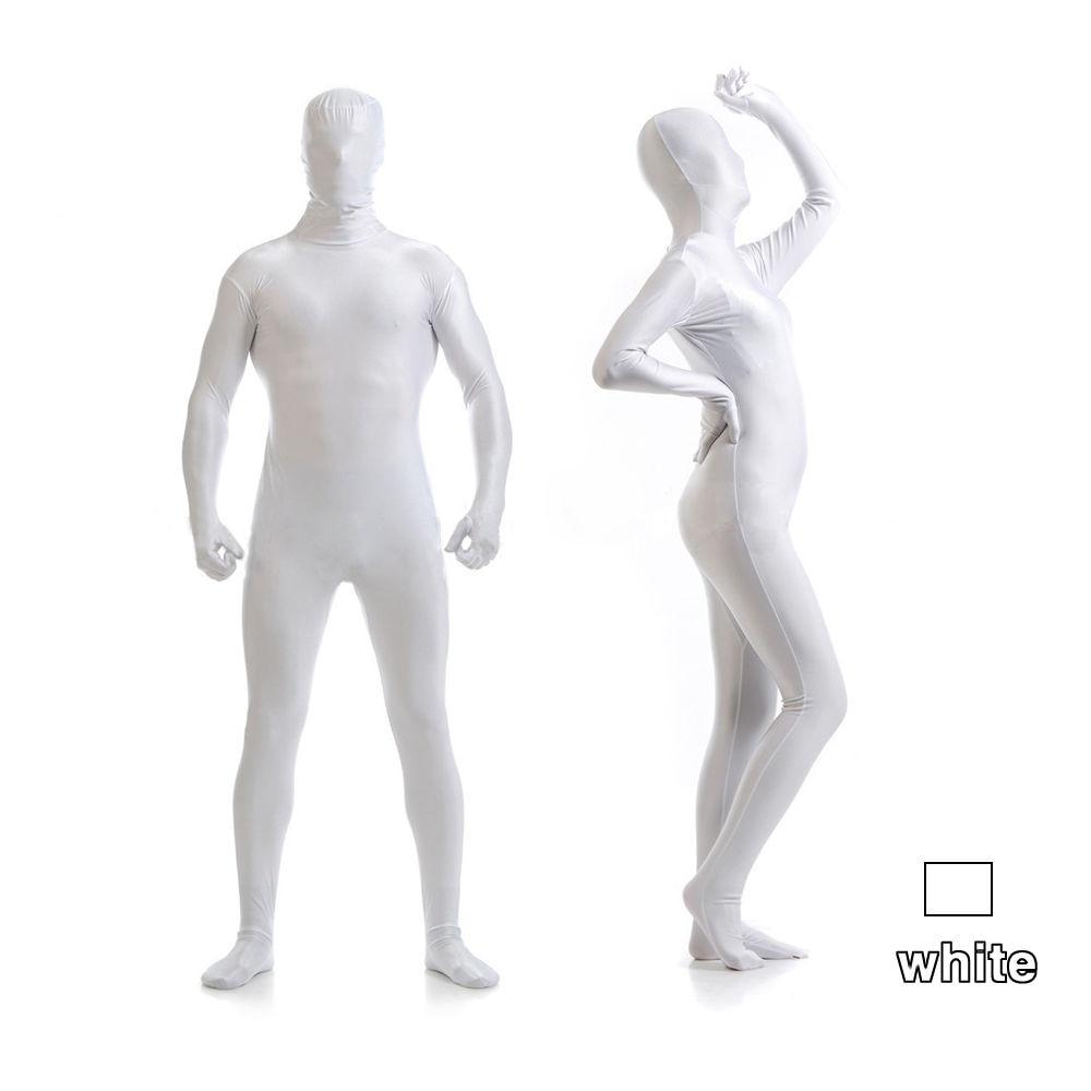 Unisex Lycra Spandex Bright 2nd Skin Zentai Costumes Bodysuit Unitard leotard