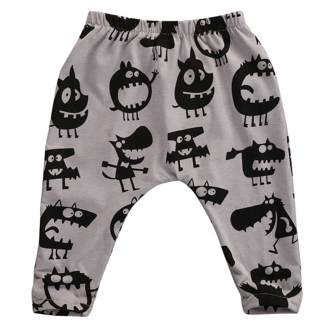 Baby Harem Pants Long Trousers Girls Animal Printed Leggings Newborn Boys Pants