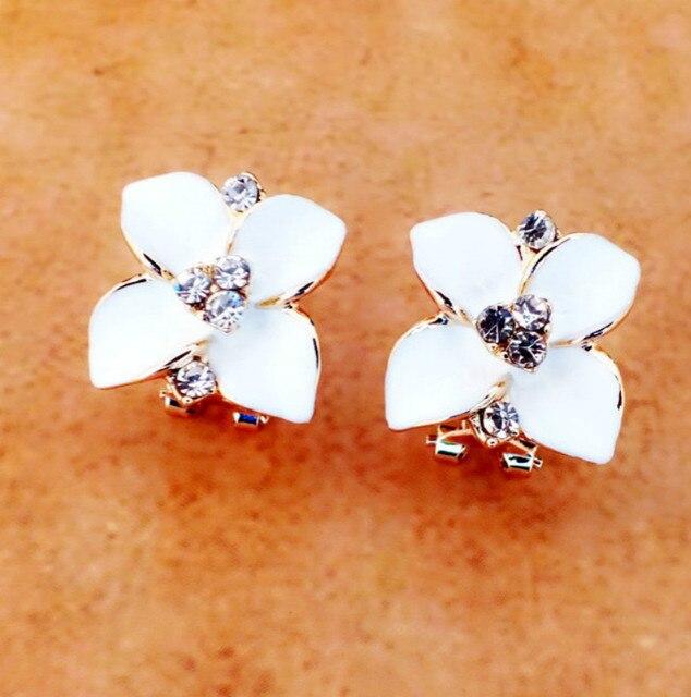 Matte Colored Flowers Earrings 4