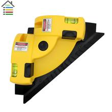 High Quality New Right Angle 90 Degree Square Laser Level Laser Tool Measurement Scale Infrared Foot