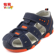 Kids Sandals For The Boys Sandals Fashion Children Shoes Summer Beach Shoes Rubber Sole Slip-resistant Breathable Flats Footwear